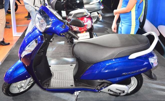 Suzuki Access 125 gia 805 USD ra mat o An Do hinh anh 1