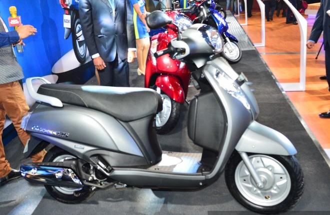 Suzuki Access 125 gia 805 USD ra mat o An Do hinh anh 2