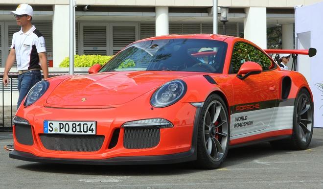 Porsche mang dan xe the thao den Sai Gon hinh anh