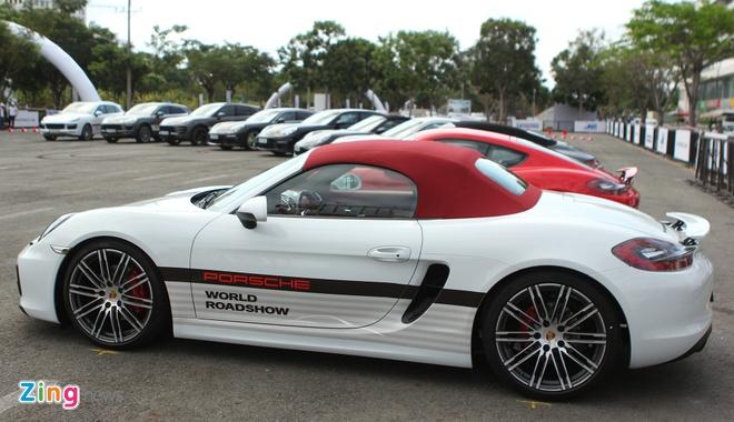 Porsche mang dan xe the thao den Sai Gon hinh anh 1