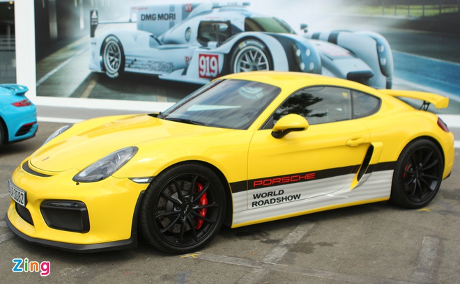 Porsche mang dan xe the thao den Sai Gon hinh anh 3