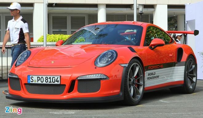 Porsche mang dan xe the thao den Sai Gon hinh anh 4