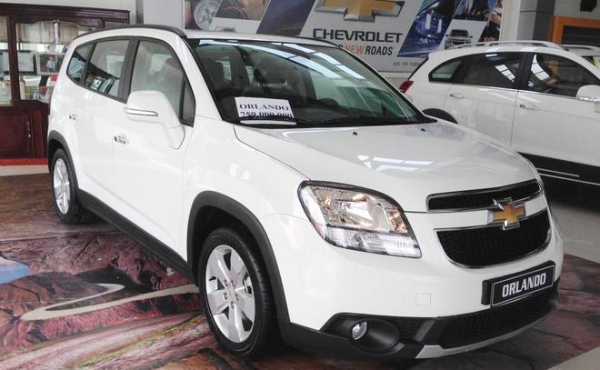 Chevrolet Orlando gap loi nut khoi dong o Viet Nam hinh anh 1