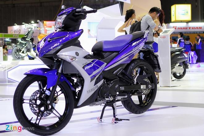 Yamaha tu tin dan dau phan khuc xe con tay 150 phan khoi hinh anh 3