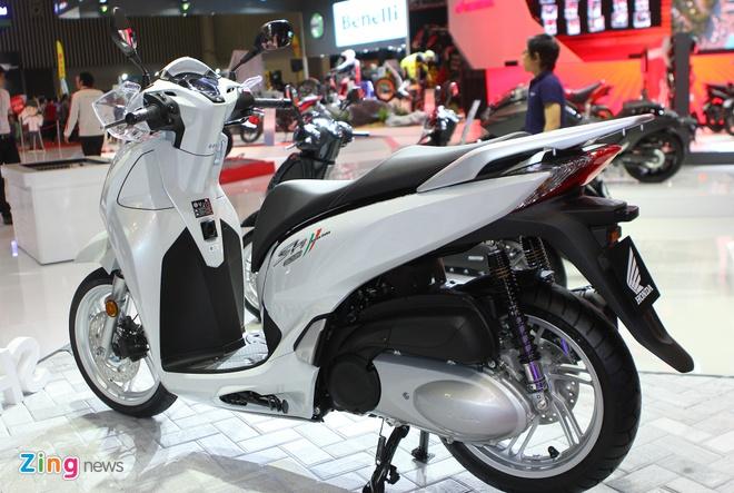 Honda SH300i ABS chinh hang sap ban o Viet Nam hinh anh 2