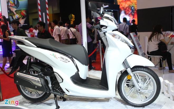 Honda SH300i ABS chinh hang sap ban o Viet Nam hinh anh 1