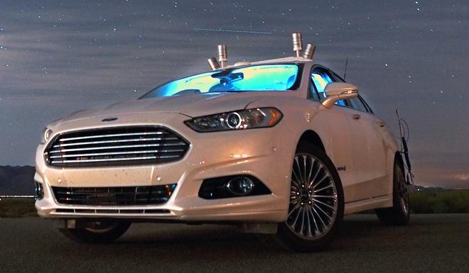 Ford Fusion tu hanh trong man dem hinh anh 1