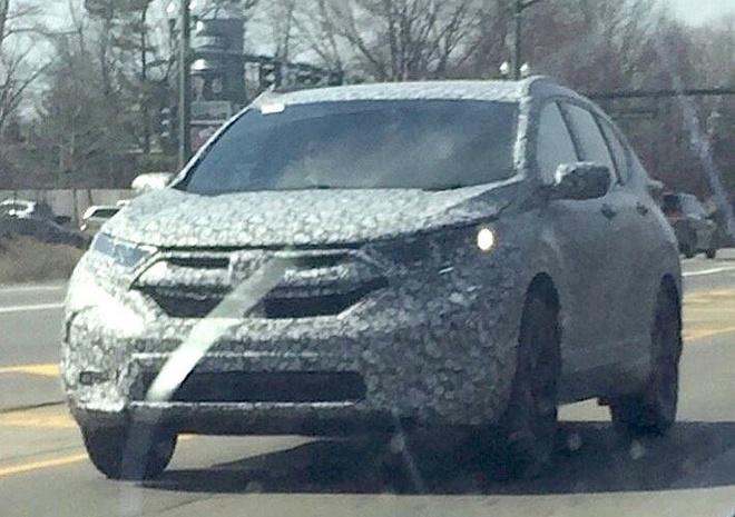 Honda CR-V the he moi xuat hien tren duong thu o My hinh anh 1
