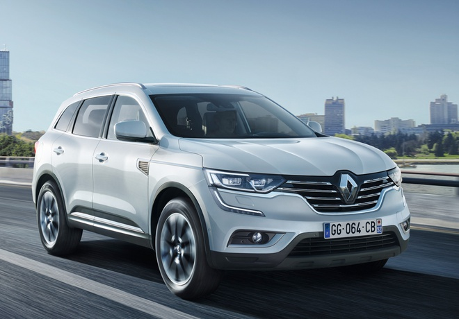 Renault Koleos 2016 ra mat anh 1