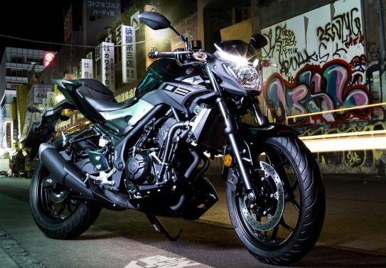 Yamaha MT-03 2016 co gia ban hon 7.000 USD o chau Au hinh anh