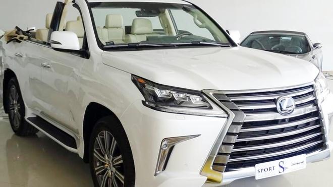 Lexus LX 570 cat mui gia hon 350.000 USD o Dubai hinh anh 1