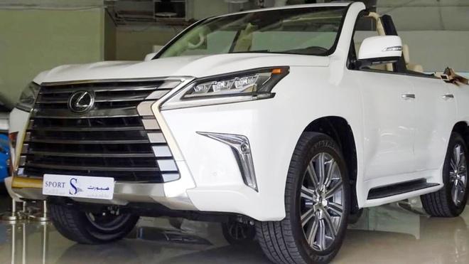 Lexus LX 570 cat mui gia hon 350.000 USD o Dubai hinh anh 2