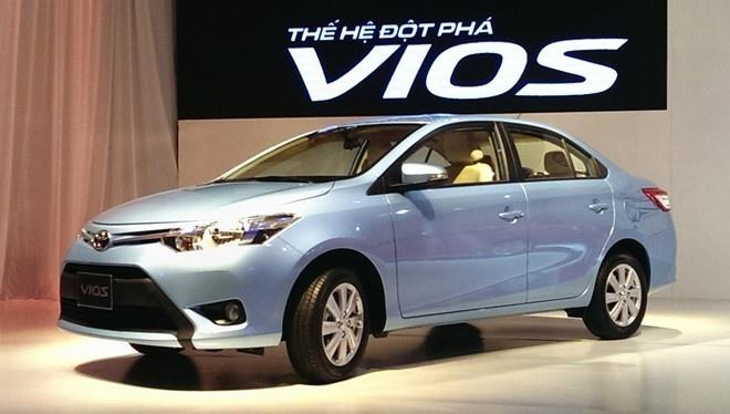 Toyota Vios thong tri phan khuc sedan hang B o VN hinh anh