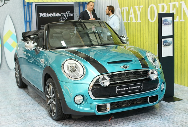 Chi tiet MINI Cooper S Convertible 2016 gia gan 1,9 ty dong hinh anh