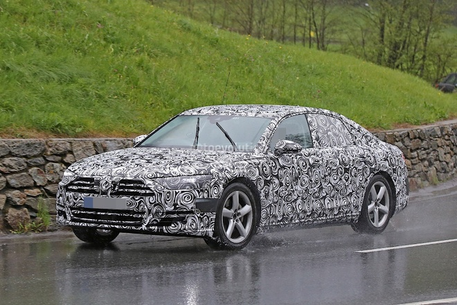 Audi A8 2017 lan dau lo anh chay thu hinh anh 1