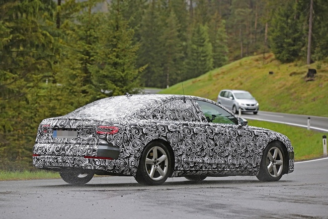 Audi A8 2017 lan dau lo anh chay thu hinh anh 2