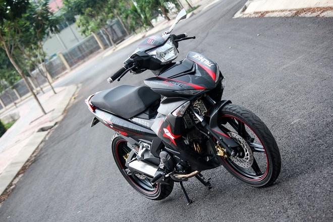 Exciter 150 mau xam nam tinh cua biker Phu Yen hinh anh 5