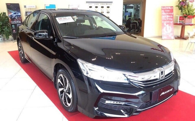 Honda Accord 2016 giu nguyen gia 1,47 ty dong o Viet Nam hinh anh