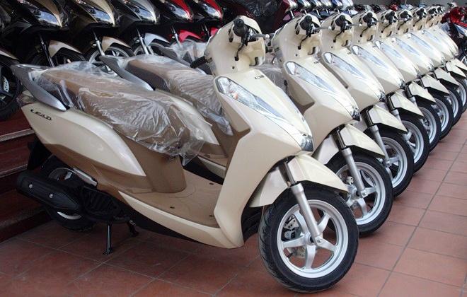 6 xe tay ga ban chay nhat Viet Nam nam 2015 hinh anh