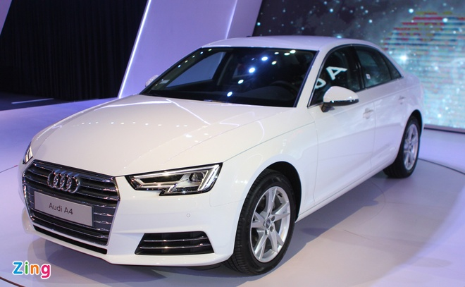 Audi A4 the he moi co gia tu 1,65 ty dong o Viet Nam hinh anh 1