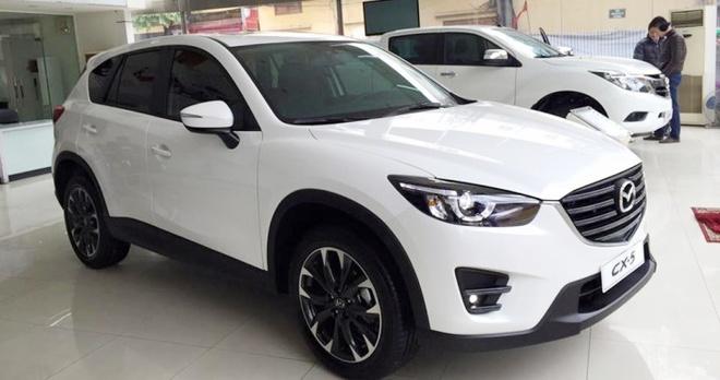 Mazda CX-5 ban chay gap hon 2 lan Honda CR-V hinh anh