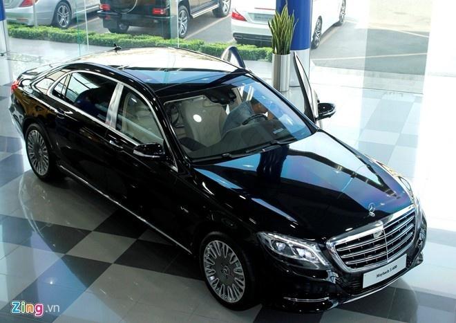 Mercedes Maybach S600 tang gia hon 4 ty dong sau 1/7 hinh anh 1
