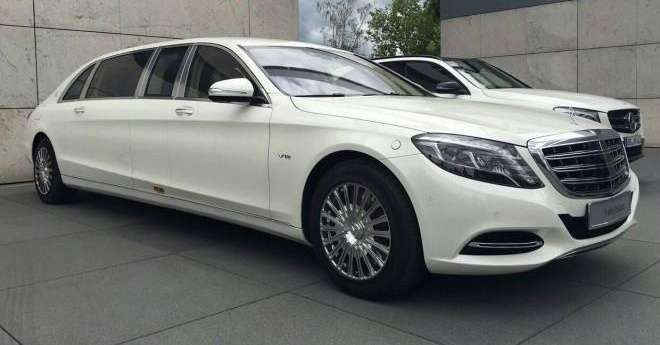Mercedes-Maybach S600 Pullman dau tien den Trung Quoc hinh anh 1