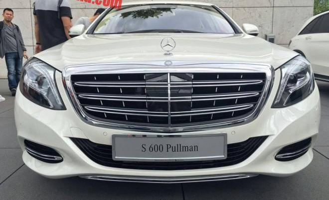 Mercedes-Maybach S600 Pullman dau tien den Trung Quoc hinh anh