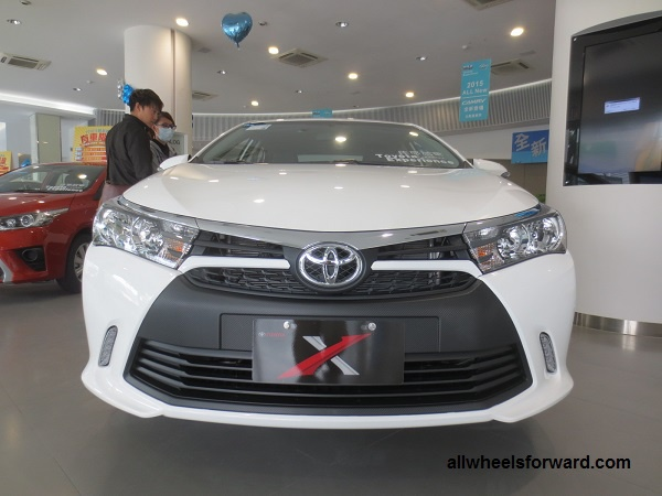 Toyota ra them Corolla Altis X voi ngoai that the thao hinh anh 1