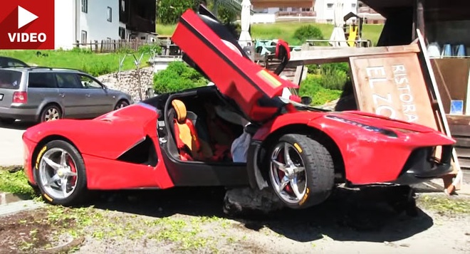 Ferrari LaFerrari hon 4 trieu USD gap tai nan o Italy hinh anh
