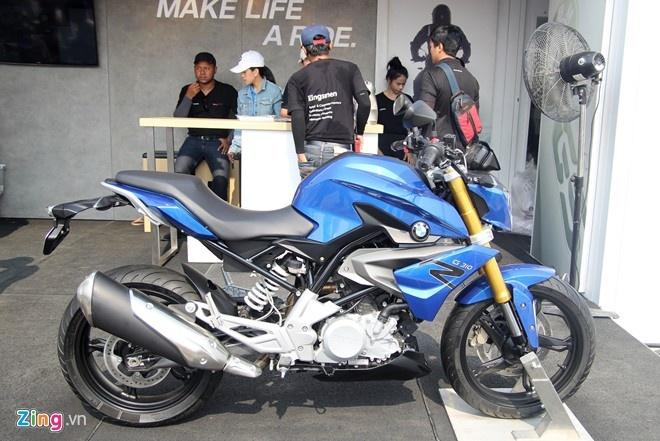 Moto duoi 500cc dau tien cua BMW co gia tu 4.700 USD hinh anh 1
