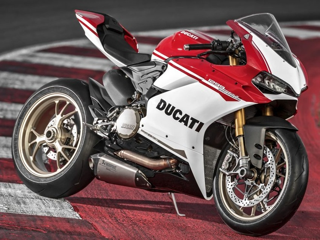 Ducati 1299 Panigale S Anniversario so luong chi 500 chiec hinh anh
