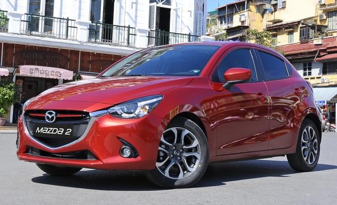 Mazda 2 2016 giam gia nhe tu 1/7 hinh anh 1