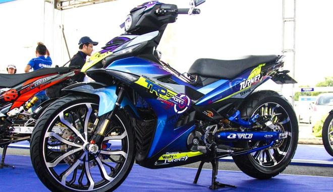 Exciter 150 gan loat do choi hang hieu cua biker Can Tho hinh anh 2