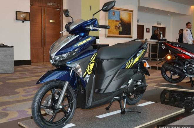 Xe tay ga Yamaha Ego Avantiz gia hon 1.400 USD o Malaysia hinh anh