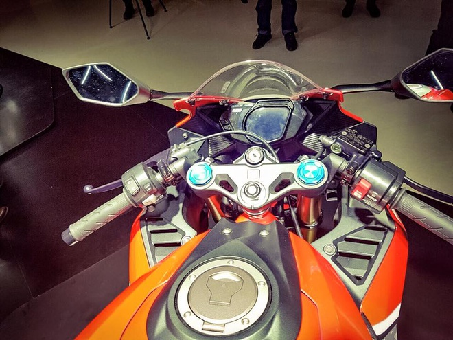 Chi tiet Honda CBR250RR 2016 gia gan 4.800 USD vua ra mat hinh anh 3