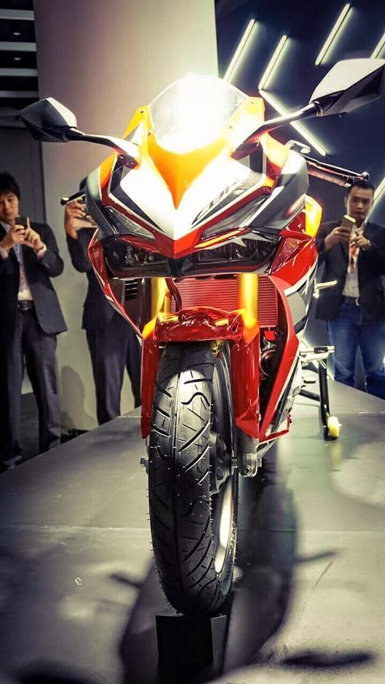 Chi tiet Honda CBR250RR 2016 gia gan 4.800 USD vua ra mat hinh anh 2