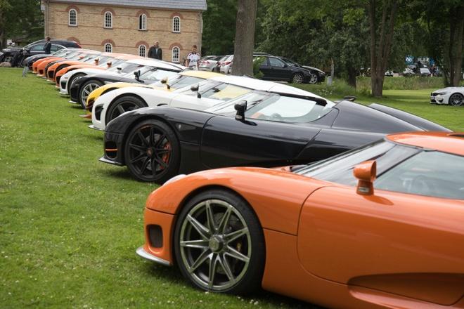 Dan sieu xe Koenigsegg khoe ve dep o Thuy Dien hinh anh 3