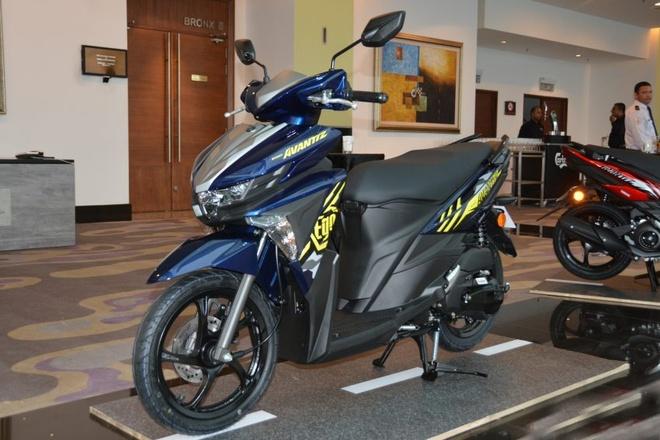 Chi tiet xe tay ga Yamaha Ego Avantiz gia hon 1.400 USD hinh anh 1