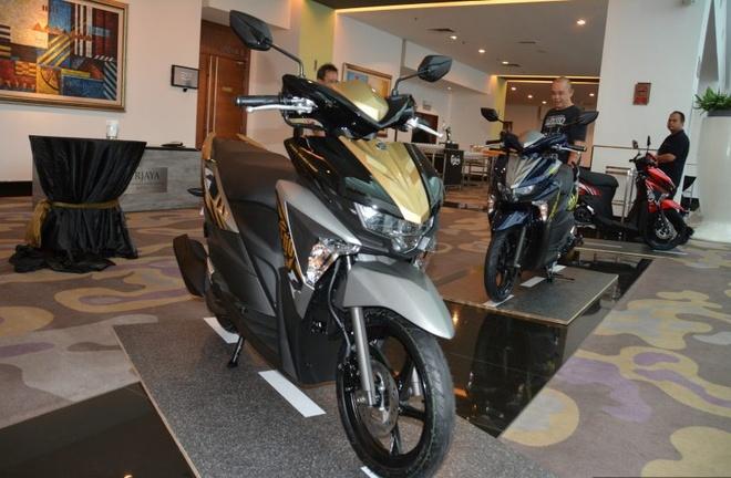 Chi tiet xe tay ga Yamaha Ego Avantiz gia hon 1.400 USD hinh anh 9
