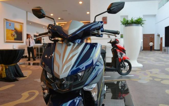 Chi tiet xe tay ga Yamaha Ego Avantiz gia hon 1.400 USD hinh anh 3