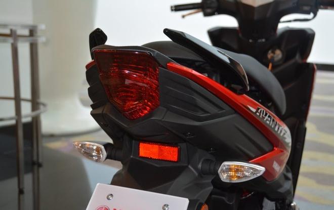 Chi tiet xe tay ga Yamaha Ego Avantiz gia hon 1.400 USD hinh anh 4