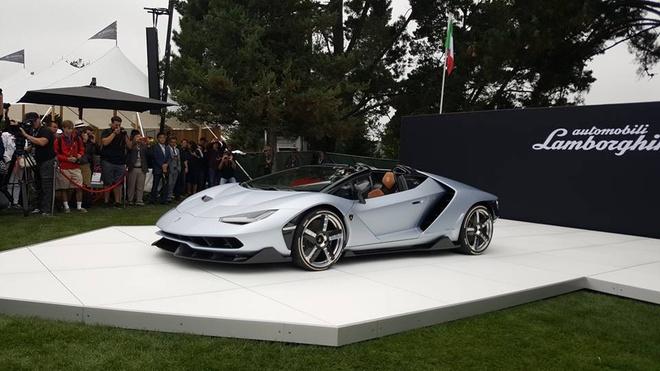 Lamborghini Centenario Roadster hon 2 trieu USD trinh lang hinh anh 1