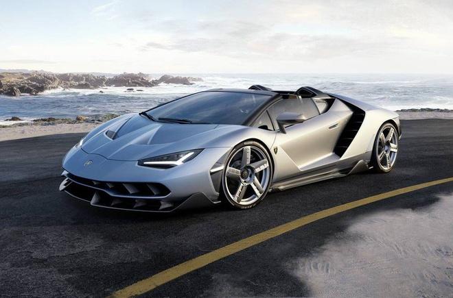 Lamborghini Centenario Roadster hon 2 trieu USD trinh lang hinh anh