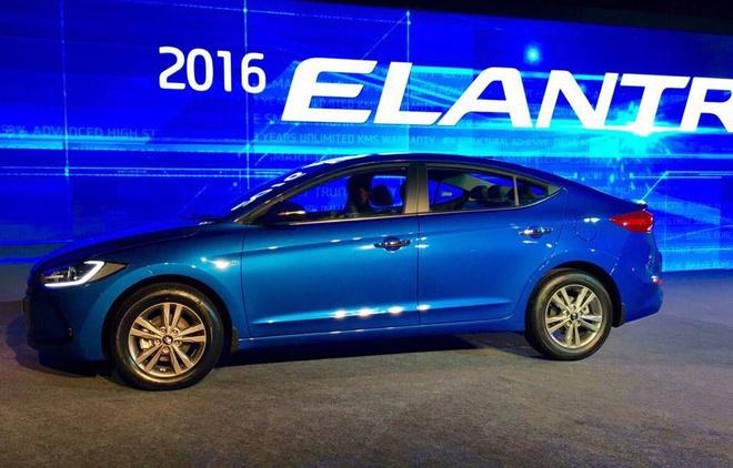 Hyundai Elantra 2016 co gia hon 19.000 USD o An Do hinh anh 2