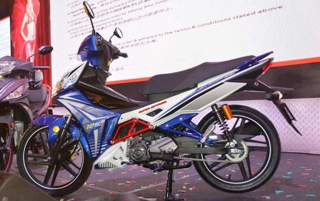 SYM Sport Rider 125i gia gan 1.400 USD tai Malaysia hinh anh 2