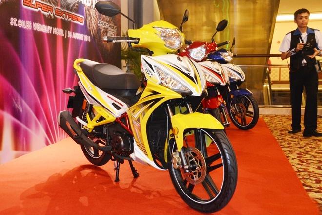 SYM Sport Rider 125i gia gan 1.400 USD tai Malaysia hinh anh 1