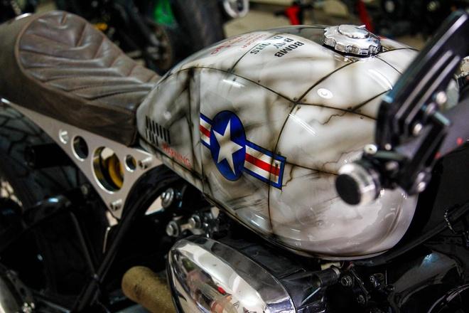 Yamaha XV750 do cafe racer cua biker Sai Gon hinh anh 2