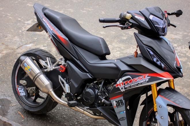 Honda Winner 150 do do choi hang hieu cua biker An Giang hinh anh 1