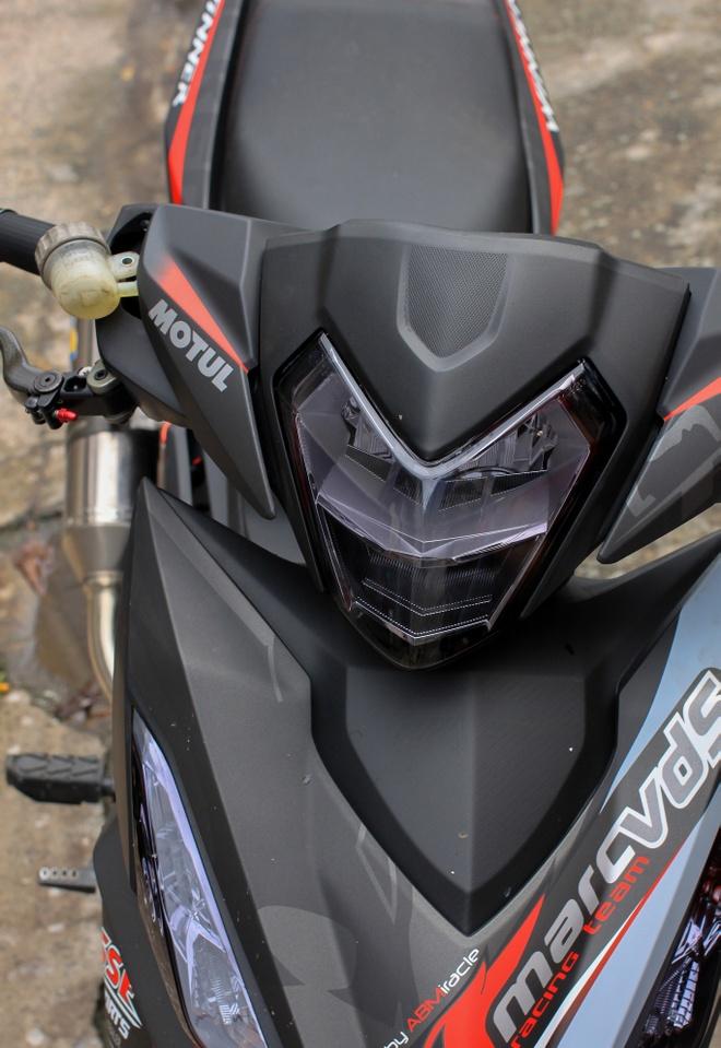 Honda Winner 150 do do choi hang hieu cua biker An Giang hinh anh 2